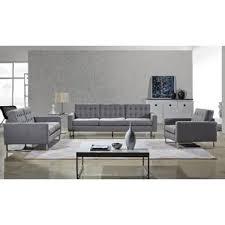 Sofa Set Living Room Modern Living Room Sets Allmodern