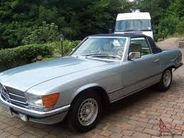 mercedes sl280 sl280 1983 blue