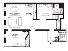 2 bedroom house plans 3d view modern baia luz room large rent