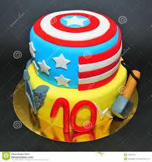 captain america cakes luxury captain america cake portrait birthday cakes gallery