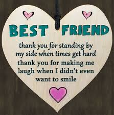 friendship heart friend friendship poem sign wooden heart quote gift for your