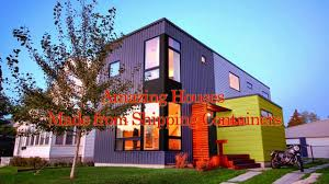 amazing houses made from shipping containers shipping container