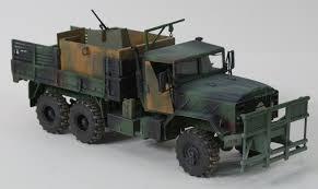 land rover italeri italeri 6513 1 35 m923 u0027hillbilly u0027 gun truck military models