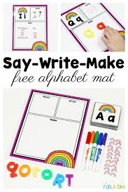 printable alphabet mat free alphabet printable for hands on learning this spring