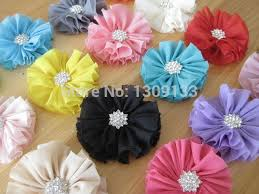 headband supplies fabric flowers and bows for diy headbands and crafting baby