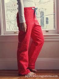 free pattern pajama pants japanese sewing patterns free women s pj pajama pants sewing pattern