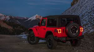 red jeeps the 2018 jeep wrangler jl is here get all the facts and photos