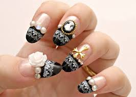 3d nails gothic nails egl japanese nail art