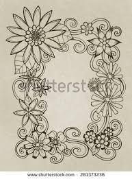 Flower Designs On Paper Abbie U0027s