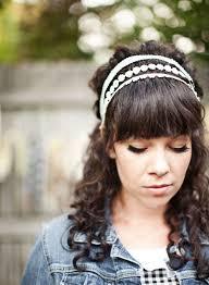 lace headbands lace headband d i y a beautiful mess