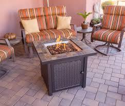 slate fire pit table az patio heaters slate propane fire pit table reviews wayfair
