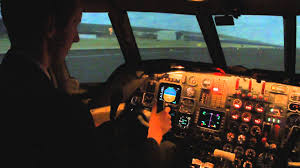 my flight in a dassault falcon 50 simulator youtube
