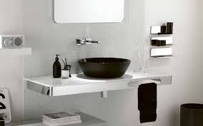 Over The Toilet Bathroom Storage by Vintage Black And White Bathroom Ideas Rectangle White Porcelain