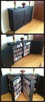 Dvd Shelves Woodworking Plans by Custom Built Dvd Cabinet I Was Thinking It Was A Book Shelf But
