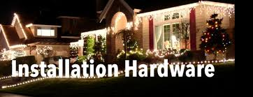 Christma Light Lights Installation Hardware Stakes Plugs And