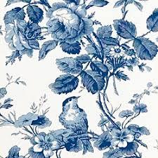 thibaut toile portfolio isabelle fabric blue on white