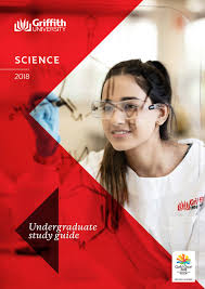 griffith university science undergraduate study guide 2018 by