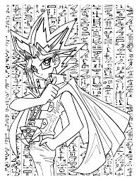 coloring page yu gi oh coloring pages 38