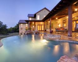 custom country house plans architecture awesome infinity pool design hill country house