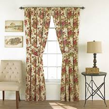 Jcpenney Purple Curtains Waverly Norfolk 2 Pack Floral Curtain Panels Jcpenney