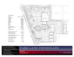 Floor Plan Of A Shopping Mall Park Lane Promenade Plans Update
