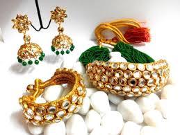 rajputi earrings buy rajputi kundan chokar haar online