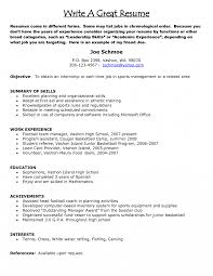 basic resume objective for a part time job how to write resume objective for retail statement do you job