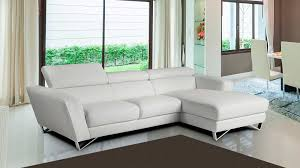 White Italian Leather Sectional Sofa Mini Sparta White Leather Sectional Sofa Leather Sectionals