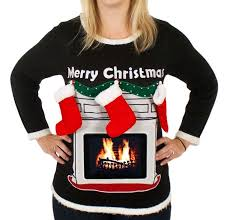 Ugly Christmas Sweater With Lights Top 10 Ugly Christmas Sweaters The 36th Avenue