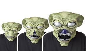 alien visitor animotion halloween mask halloween make up