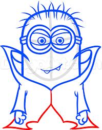 Easy Halloween Drawings Minion Halloween Drawings U2013 Halloween Wizard