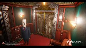 elevator death artstation department of death grim fandango fan art