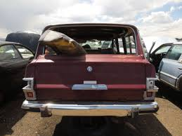 classic jeep wagoneer junkyard find 1981 jeep wagoneer the truth about cars