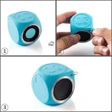 chukchi portable mini cute wireless speaker ip67 water resistant