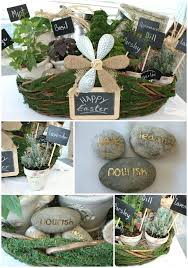 Gardening Basket Gift Ideas Gardening Gifts For Make This Beautiful Herb Filled Moss