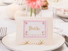 Place Cards Wedding Wedding Place Cards Abc Free Chart Cross Stitching