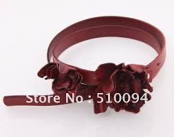 Flower Belts - buy cow leather mixedlot wholesale western lady genuine leather