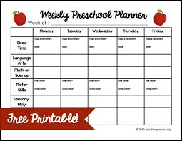 weekly preschool planner free printable jpg homeschool lesson