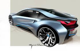 bmw hybrid sports car bmw i8 in hybrid sports car priced at 135 925 for u s