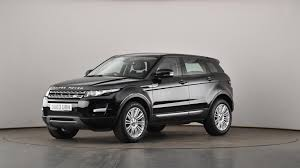 land rover range rover evoque black used land rover range rover evoque 2 2 ed4 pure 5dr 2wd black
