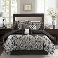 Jacquard Bed Set Park Valerie 7 Pc Jacquard Comforter Set Jcpenney