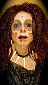 Voodoo Queen Halloween Costume Makeup Keevanski Diy Peluca Rastas Lana Merino Wool