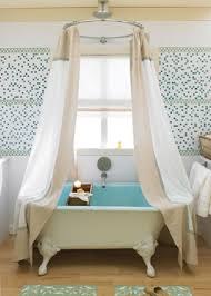 Claw Foot Tub Shower Curtains Sweet And Pretty Bathrooms Tubs House And Rain Shower