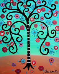 gallery of modern folk artist pristine cartera turkus mexican