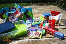 gift baskets for college students easter basket ideas for college students