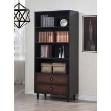 cherry finish bookshelves u0026 bookcases shop the best deals for