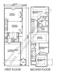 Duplex Floor Plans With 2 Car Garage Two Story Townhouse Floor Plans Narrow Yahoo Image Search