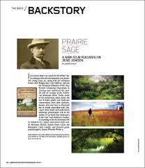 Landscape Architecture Magazine by Prairie Sage Landscape Architecture Magazine