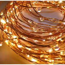 find the apothecary company copper decorative micro led string