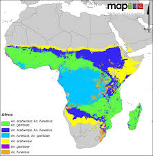 Ap World History Regions Map by A Global Map Of Dominant Malaria Vectors Parasites U0026 Vectors